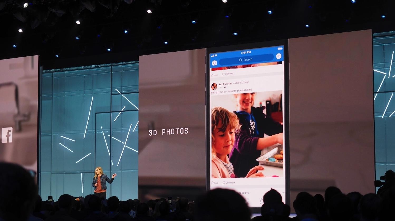 Facebook 3D billeder