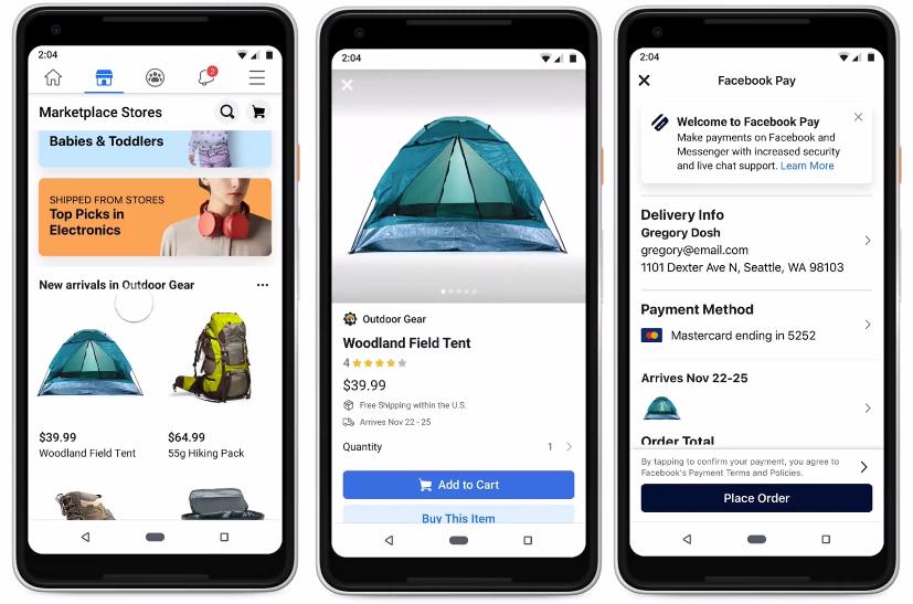 SoMe Up: Facebook lancerer ny betalingsløsning - byd velkommen til Facebook Pay - makeitmedia